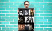 Johnny Depp helena bonham carter film strip - Wall Art Print Poster   -  Poster Geekery